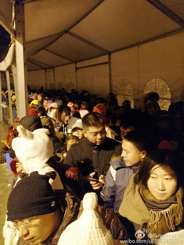 Users tweeting Xiling snow mountain on new year's Eve people stranded in Chengdu, official: message not